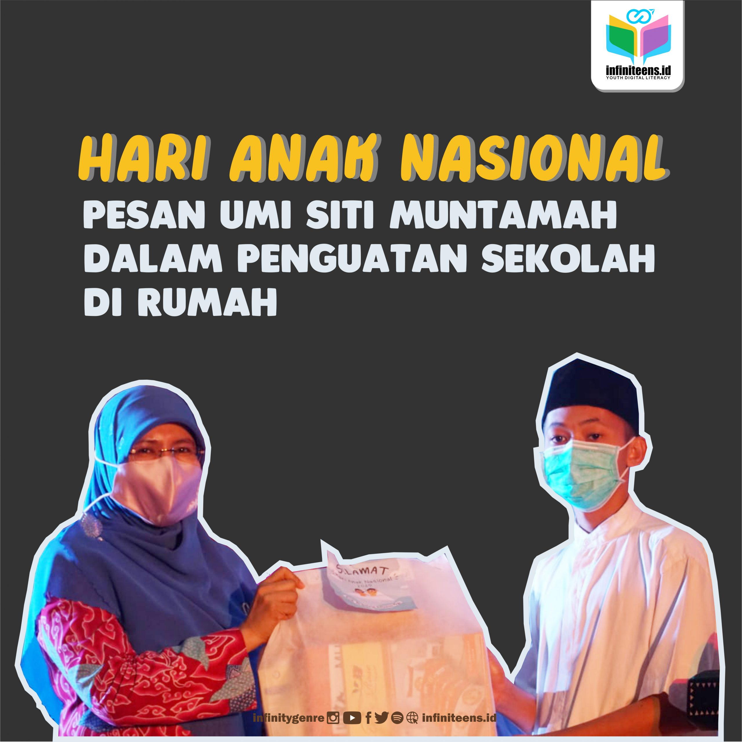 Pesan Umi Siti Muntamah di Hari Anak
