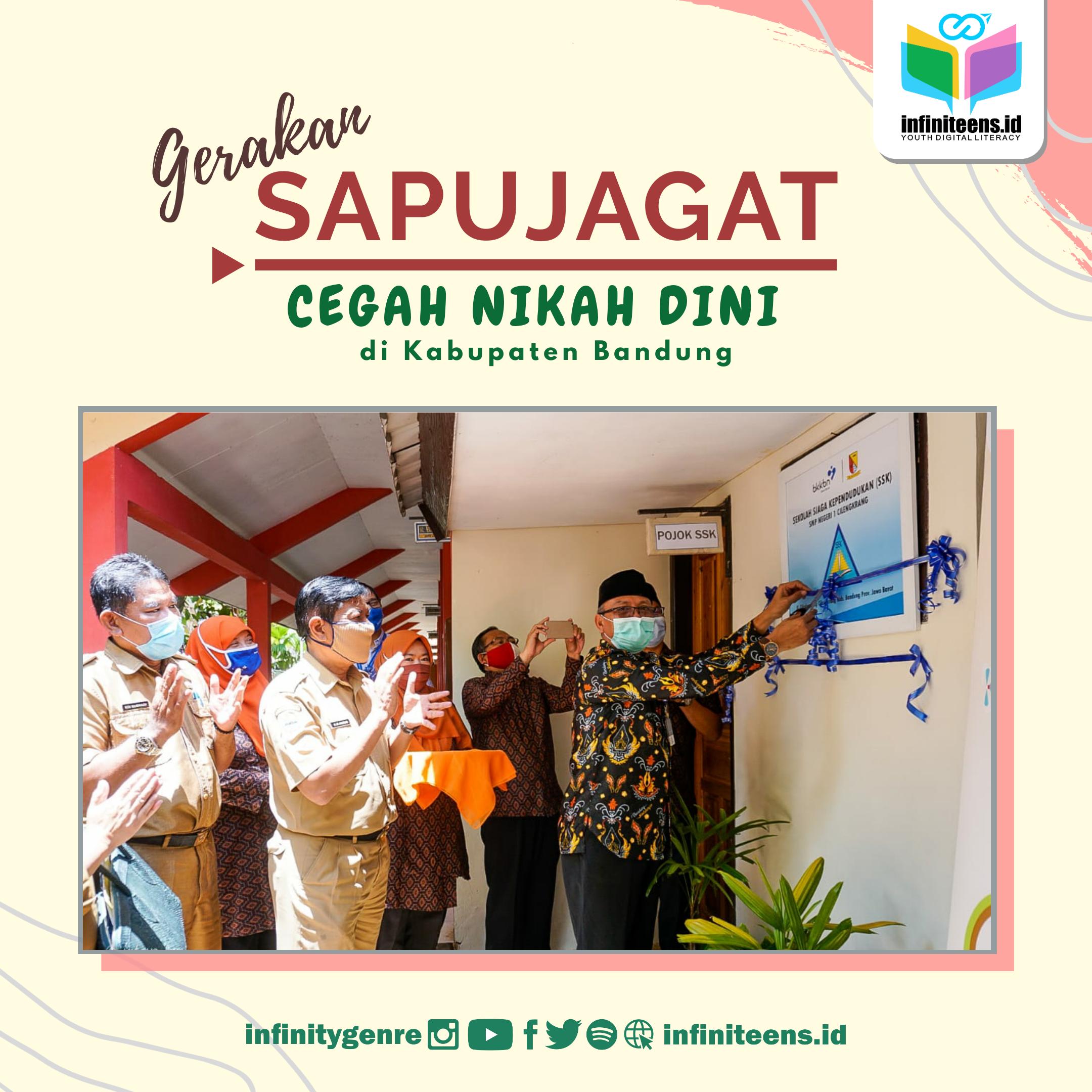Gerakan Sapujagat untuk Cegah Nikah Muda di Kabupaten Bandung