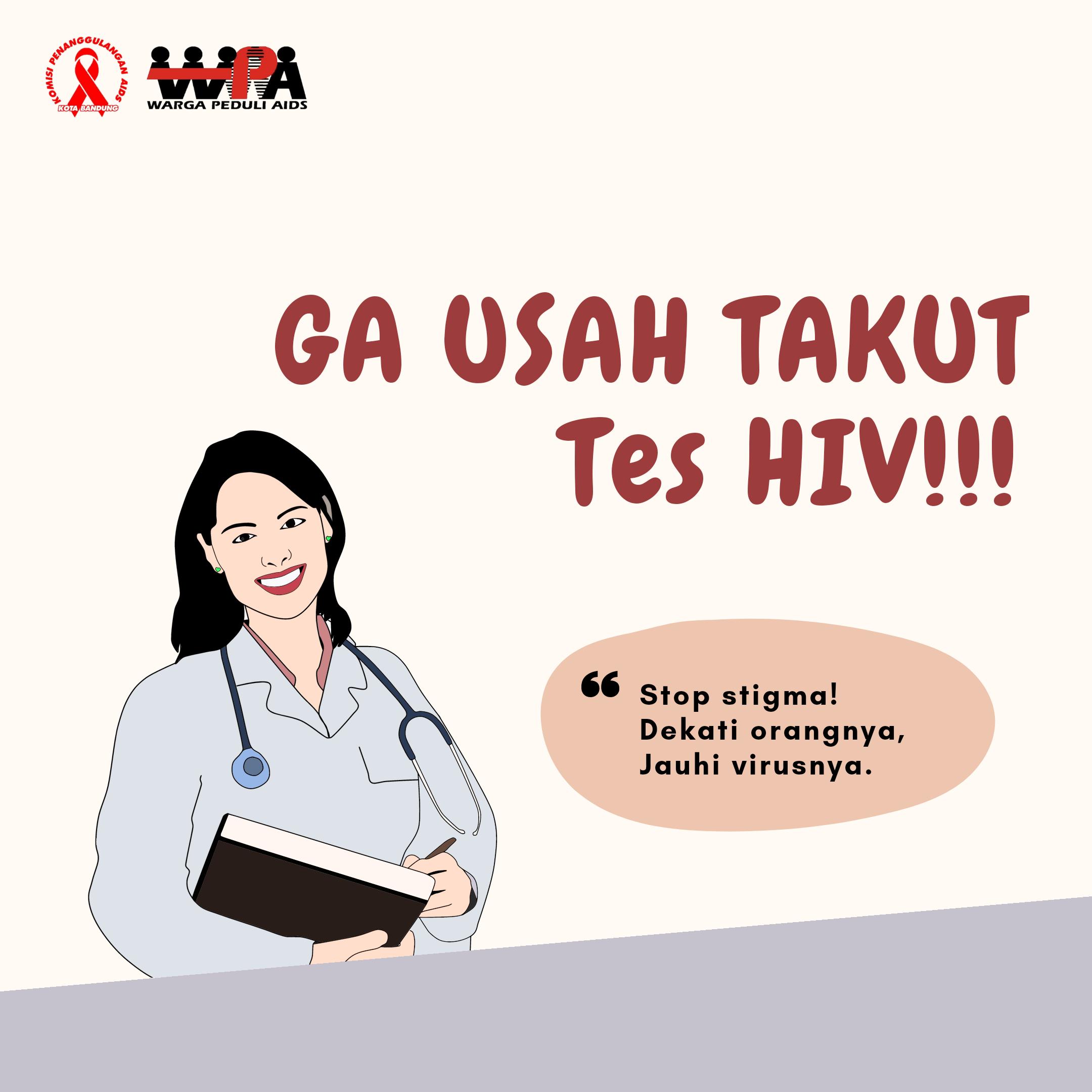 Ga Usah Takut Tes HIV!!! Ini Alasannya…