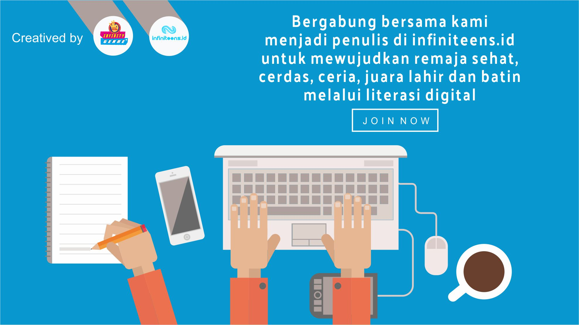 JOIN WITH INFINITEENS.ID