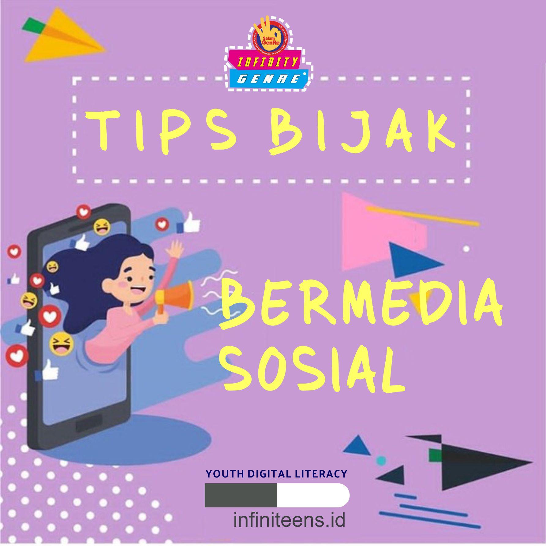 Tips Bijak Menggunakan Media Sosial