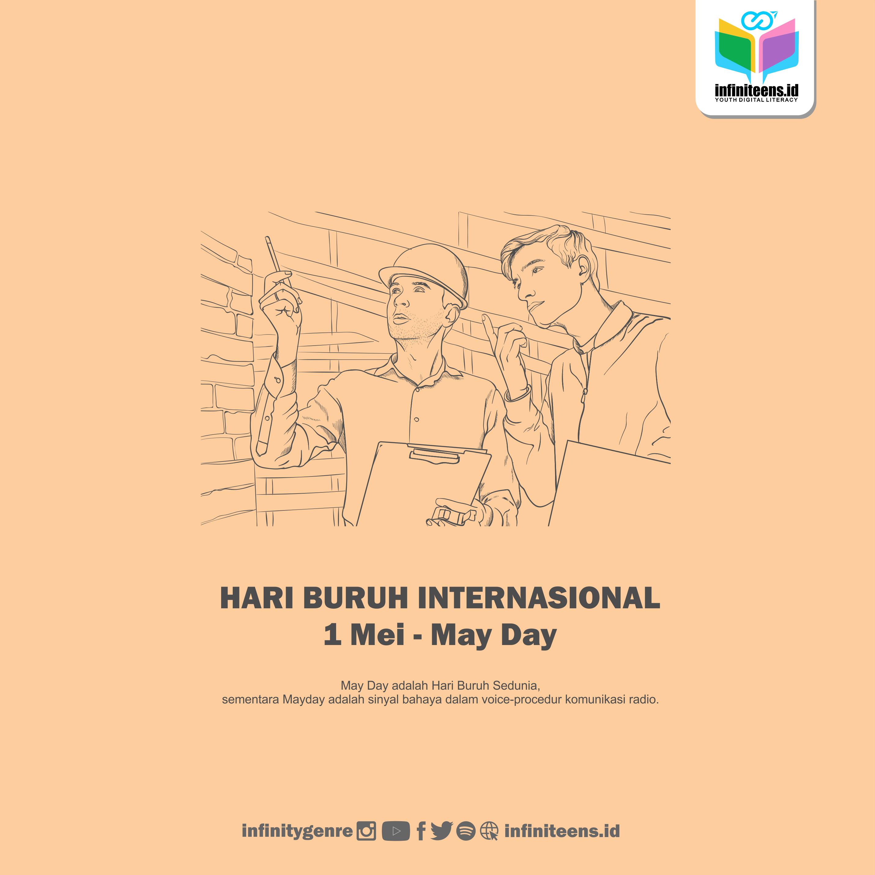 Hari Buruh Internasional 2021: Beda May Day dengan Mayday